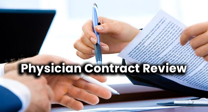 Physician Contract Review Houston Lawyer